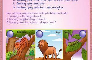 Buku Pintar Aktivitas Anak Shaleh, Binatang Haram (54)