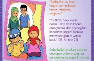 Buku Pintar Aktivitas Anak Shaleh, Doa Anak untuk Orang Tua (29)