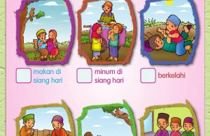 Buku Pintar Aktivitas Anak Shaleh, Hal yang dapat Membatalkan Puasa (34)