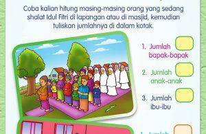 Buku Pintar Aktivitas Anak Shaleh, Hari Raya Idul Fitri (31)