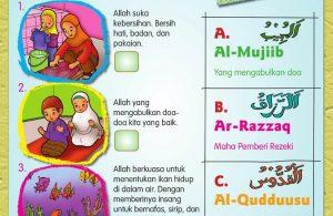 Buku Pintar Aktivitas Anak Shaleh, Mengenal Asmaul Husna (5)