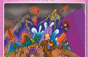 Buku Pintar Aktivitas Anak Shaleh, Mengenal Hari Kiamat (56)