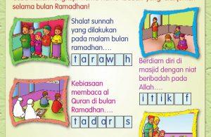 Buku Pintar Aktivitas Anak Shaleh, Mengenal Puasa Wajib (33)