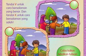 Buku Pintar Aktivitas Anak Shaleh, Mengucapkan Salam (9)