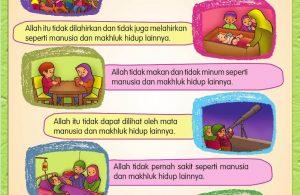Buku Pintar Aktivitas Anak Shaleh, Sifat-Sifat Allah SWT (4)