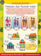 Ebook Pintar Aktivitas TK A-B: Baju dan Rumah Adat