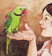 Burung Kakatua yang Pintar Bicara