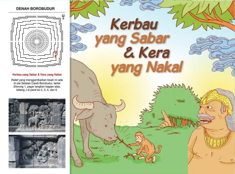 Cerita Bergambar Relief Candi Borobudur Kerbau yang Sabar dan Kera yang Nakal