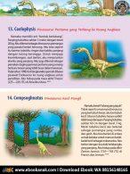 Coelophysis Dinosaurus Pertama yang Terbang ke Ruang Angkasa (7)