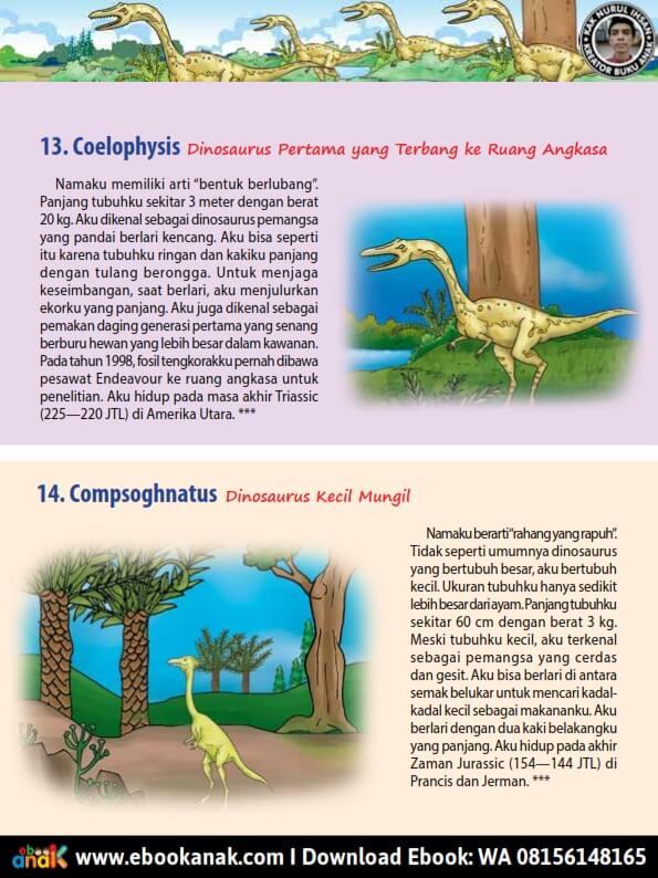Coelophysis Dinosaurus Pertama yang Terbang ke Ruang Angkasa