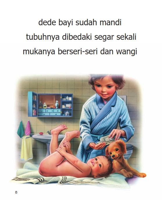 Dede Bayi Sudah Mandi