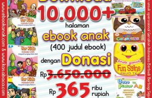 Download 10 Ribu Halaman Ebook Legal dan Printable dengan Donasi