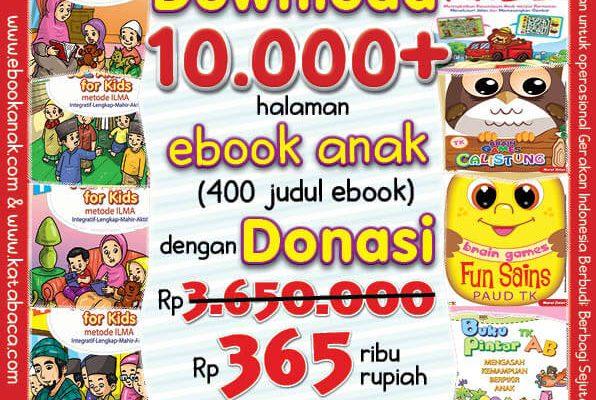 Download 10 Ribu Halaman Ebook Legal dan Printable dengan Donasi