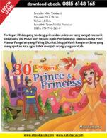 Download Ebook 30 Dongeng Prince dan Princess