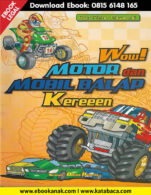 Download Ebook Anak: Buku Pintar Mewarnai Wow Motor dan Mobil Balap Kereeen