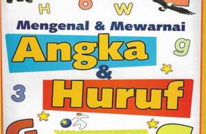 Download Ebook Aktivitas Anak: Mengenal dan Mewarnai Angka dan Huruf