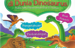 Download Ebook Buku Aktivitas Petualangan di Dunia Dinosaurus