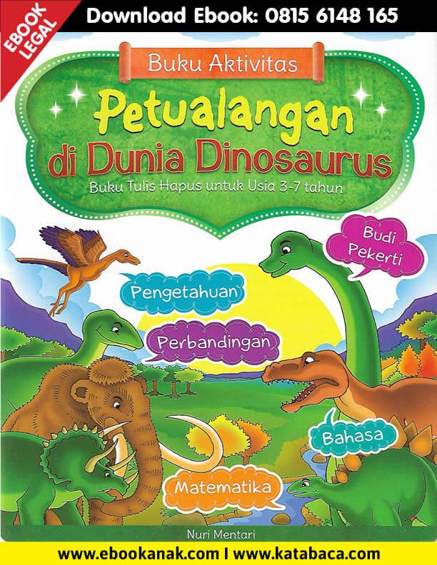 Download Ebook Buku Aktivitas Petualangan di Dunia Dinosaurus