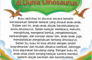 Download Ebook Buku Aktivitas Petualangan di Dunia Dinosaurus2
