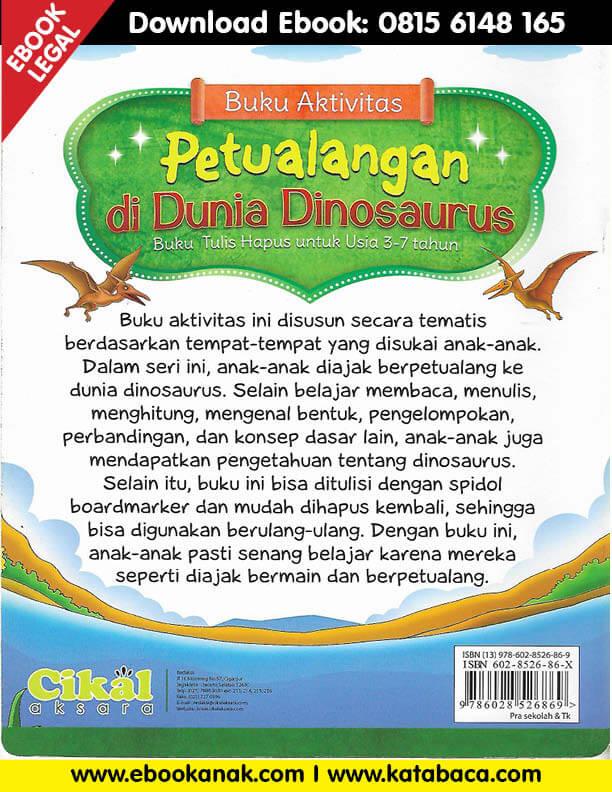 Download Ebook Buku Aktivitas Petualangan di Dunia Dinosaurus2