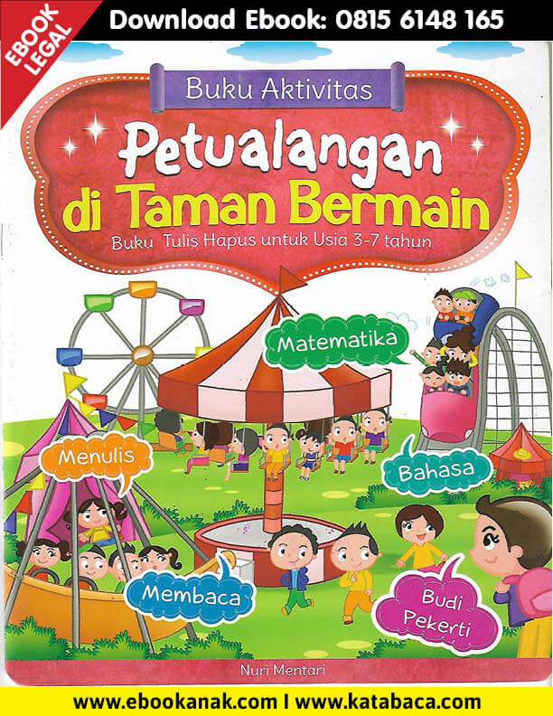 Download Ebook Buku Aktivitas Petualangan di Taman Bermain