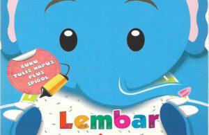 Download Ebook Buku Tulis Hapus Lembar Kegiatan TK A-B