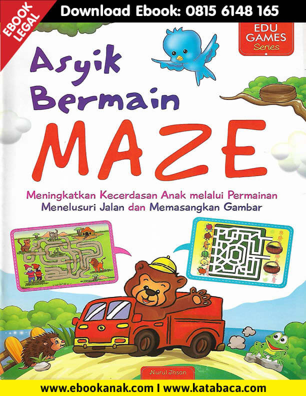 Download Ebook Edu Games Asyik Bermain Maze1