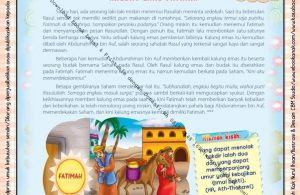 Download Ebook Legal dan Printable Juz Amma for Kids, Kalung Emas Fatimah