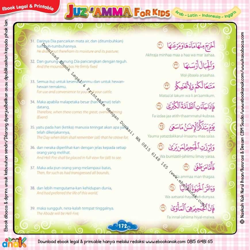 Download Ebook Legal dan Printable Juz Amma for Kids, Surat ke-79 An-Naziat (5)