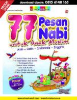 Download Ebook PDF 77 Pesan Nabi untuk Anak Muslim