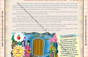 Download Ebook Printable Juz Amma for Kids, Keberuntungan dari Sebutir Apel