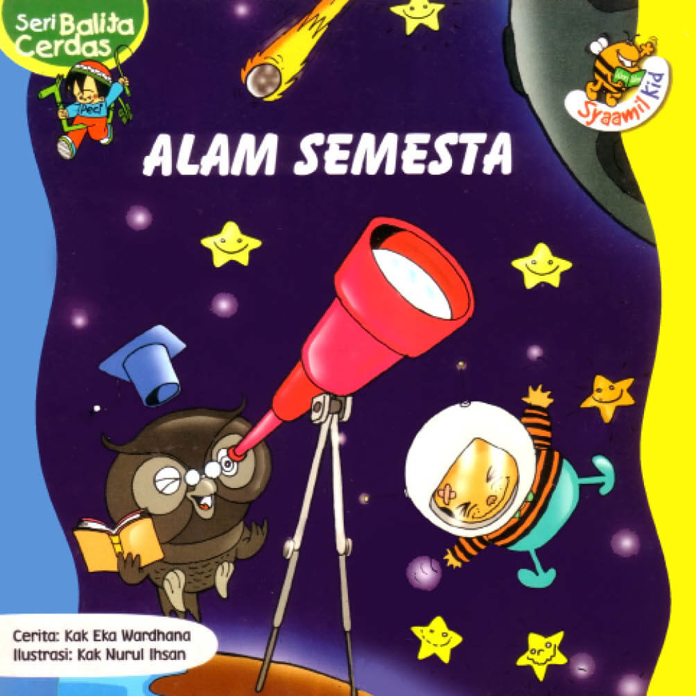 Download Ebook Seri Balita Cerdas, Alam Semesta
