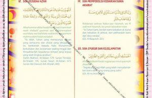 Download Ebook legal dan Printable Juz Amma for Kids, Doa Harian Anak Muslim 6