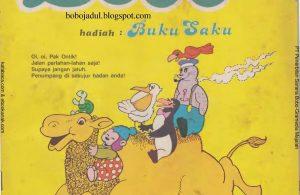 Download Majalah Bobo Jadul Edisi 18 Agustus 1984