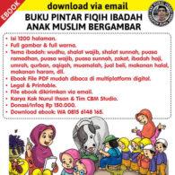 Download ebook buku pintar fiqih ibadah anak muslim bergambar