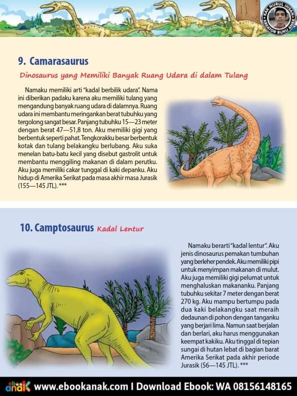 Camarasaurus: Dinosaurus yang Memiliki Banyak Ruang Udara di dalam Tulang