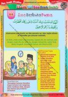 Ebook 101 Doa Anak Saleh, Doa Berbuka Puasa (68)