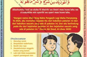 Ebook 101 Doa Anak Saleh, Doa Berpakaian (13)