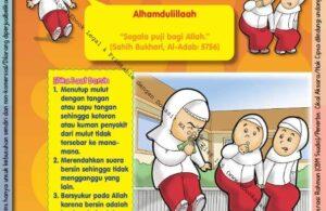 Ebook 101 Doa Anak Saleh, Doa Ketika Bersin (81)