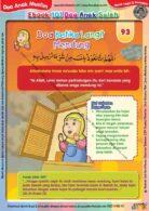Ebook 101 Doa Anak Saleh, Doa Ketika Langit Mendung (95)