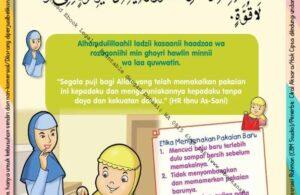 Ebook 101 Doa Anak Saleh, Doa Mengenakan Pakaian Baru (14)