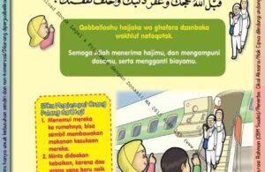 Ebook 101 Doa Anak Saleh, Doa Menjemput Orang Pulang dari Haji (73)