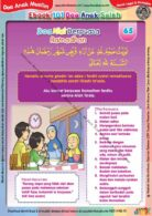 Ebook 101 Doa Anak Saleh, Doa Niat Berpuasa Ramadhan (67)