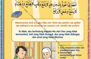 Ebook 101 Doa Anak Saleh, Doa Perlindungan dari Ilmu Tidak Bermanfaat (23)