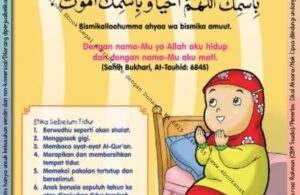 Ebook 101 Doa Anak Saleh, Doa Sebelum Tidur (3)