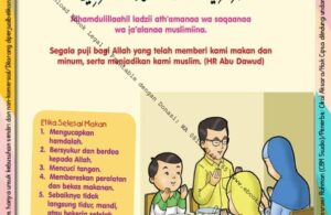 Ebook 101 Doa Anak Saleh, Doa Selesai Makan (18)