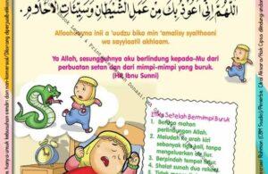 Ebook 101 Doa Anak Saleh, Doa Setelah Bermimpi Buruk (6)