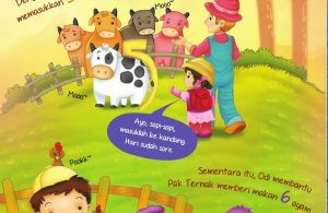 Ebook 2 in 1 Dongeng dan Aktivitas, Bukit Angka, Lima Sapi dan Enam Ayam (8)