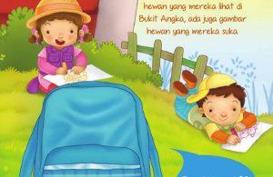 Ebook 2 in 1 Dongeng dan Aktivitas, Bukit Angka, Menggambar Hewan (14)
