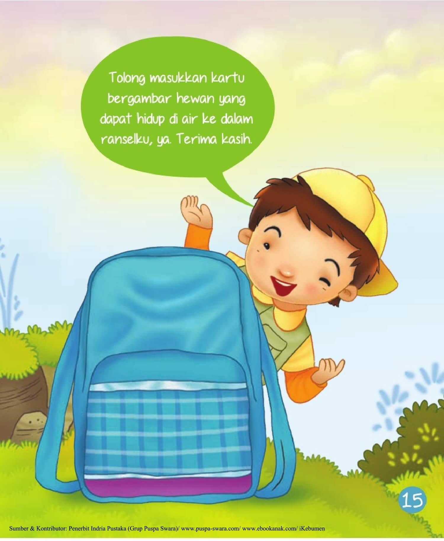 Ebook 2 in 1 Dongeng dan Aktivitas, Bukit Angka, Ransel Biru (17)